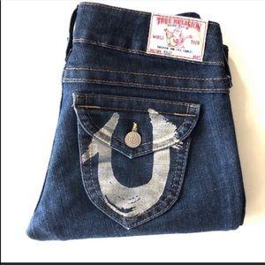 True Religion jeans straight Billy 26